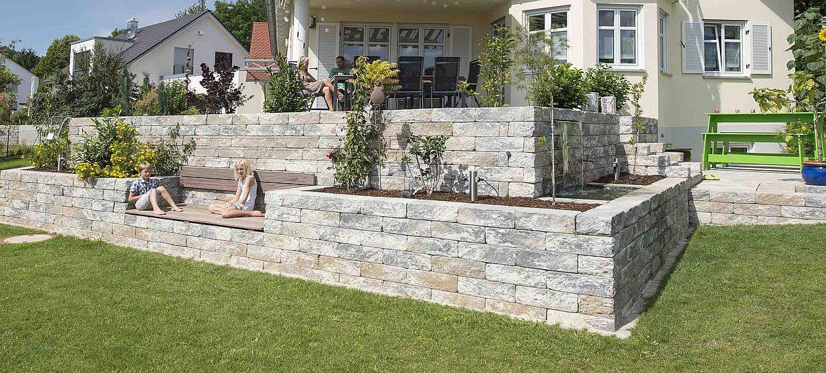 Bevorzugt Vermont®-Bruchsteinmauer | KANN Baustoffwerke HS64